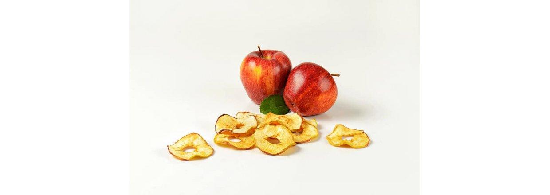 Tørkede epleringer - Dehydrator